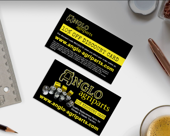 Discount card design